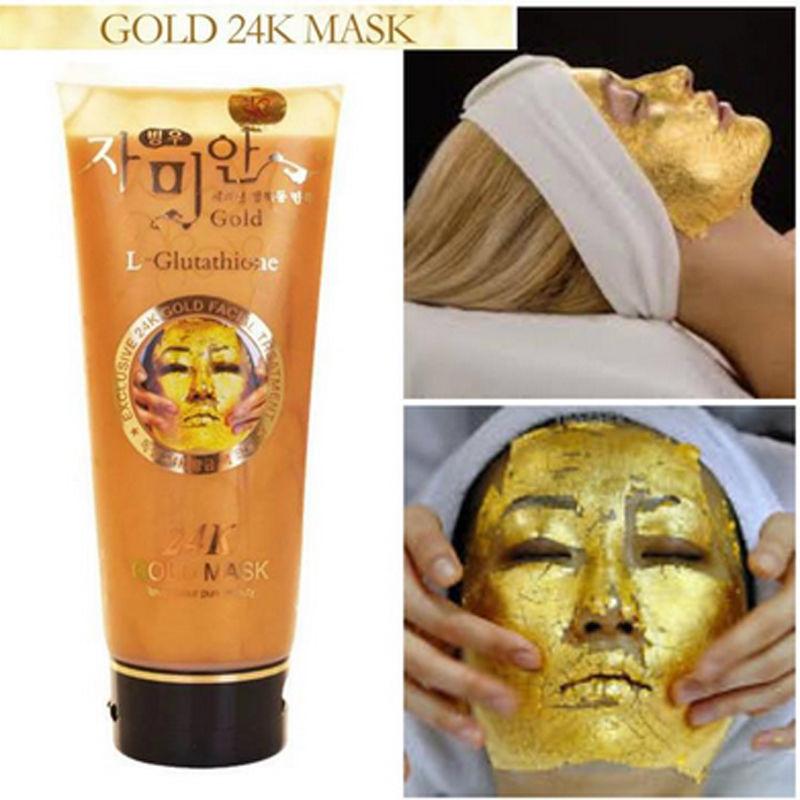 mask 24k facial gold