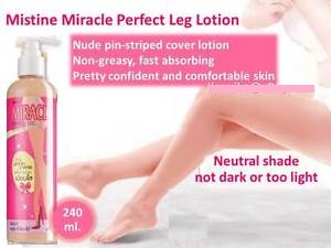 Mistine Miracle Perfect Leg Lotion