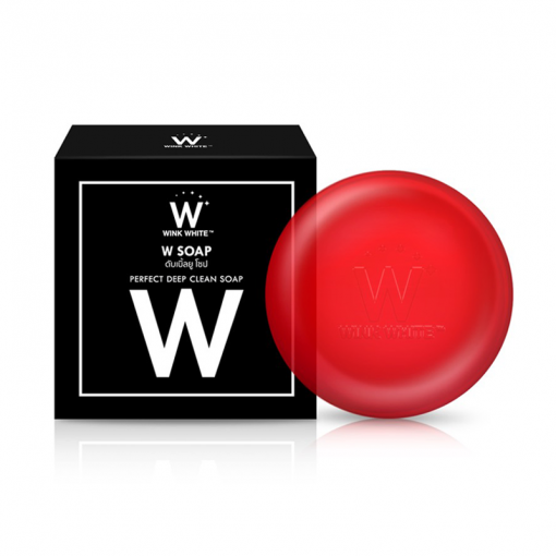 Wink White W Soap