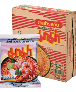 Mama Tom Yum Kung Shrimp Noodle 55g 30pcs