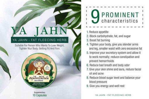 Ya Jahn Fat Burning Herb 10 capsules